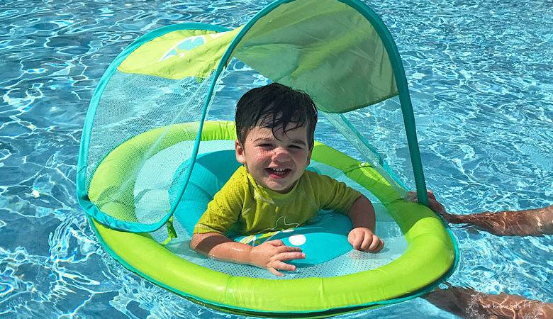 Swimways Baby Spring Float Canopy National Learn