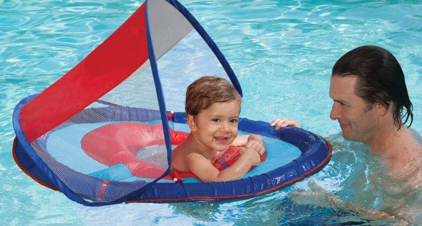 Swimways Baby Spring Sun Canopy Swimming Pool Float