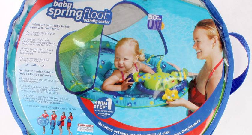 Swimways Corp Baby Spring Float Activity Center Blue