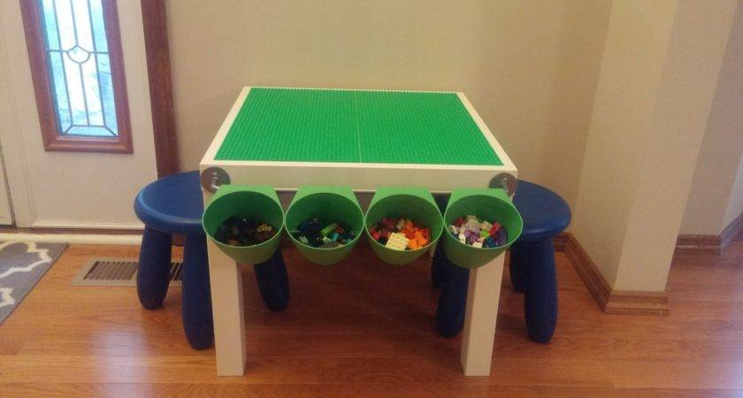 Table Lego Diy Tips Advice Storing Toys Art