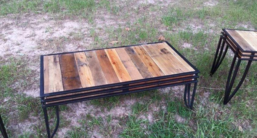 Tables Pallet Wood Tops Ideas Recycled