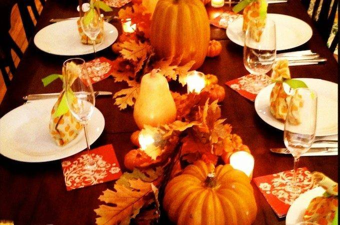 Tablescape Tuesday Fall First Hosting