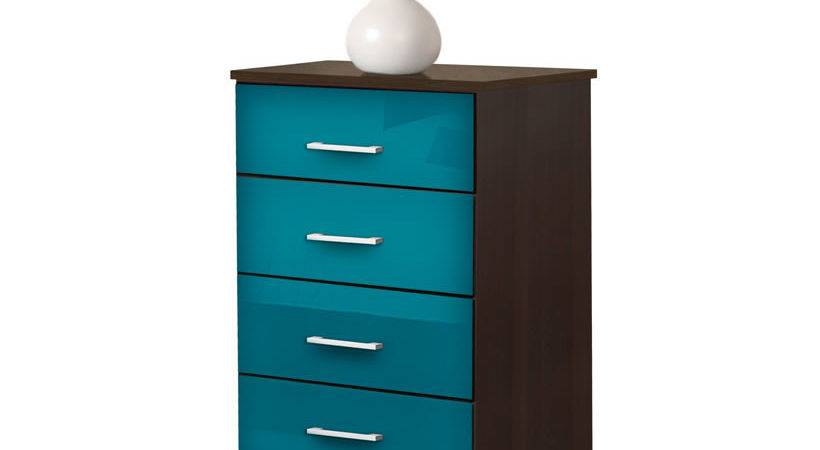 Tall Nightstand Contemporary Drawer