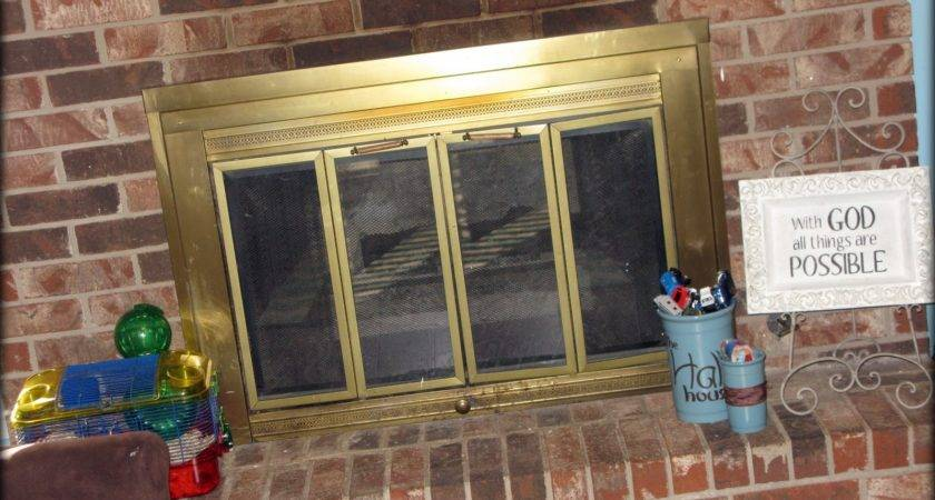 Tattered Inked Updating Your Fireplace Without