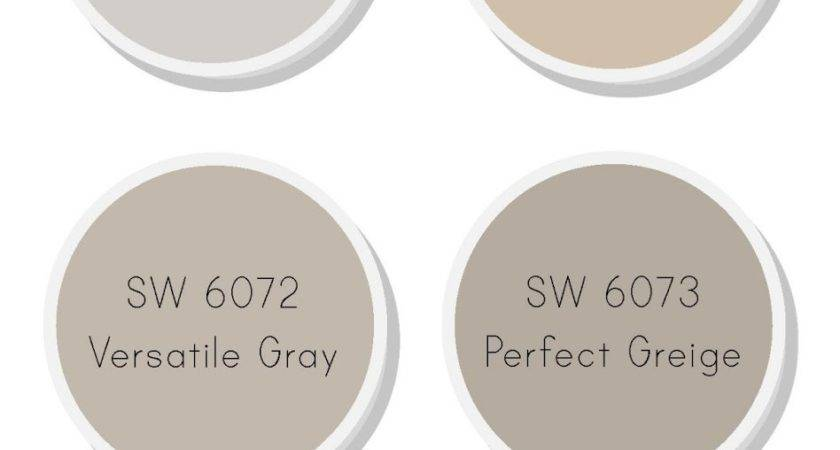 Taupe Painted Rooms Sherwin Williams Kilim Beige