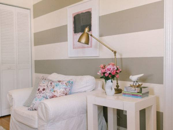 Ten Tips Painting Striped Wall Style Pretty Living