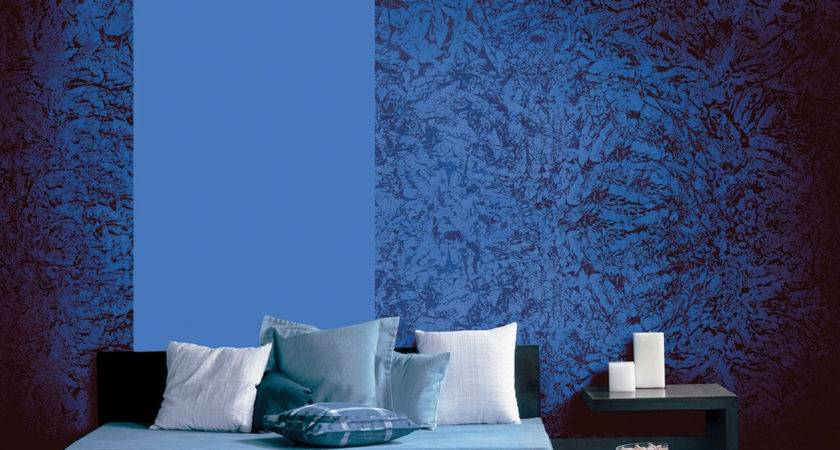 Textured Wall Paint Designs Bedroom Home Combo