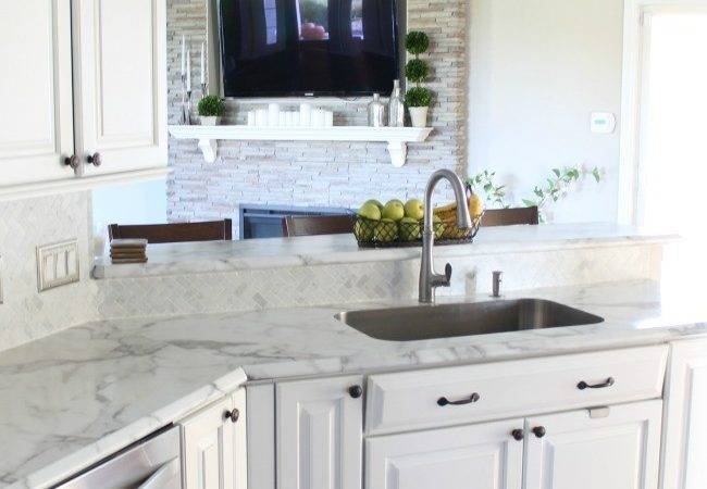 They Formica Calacatta Marble Amore Edge