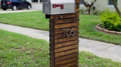 They Thought Their Old Mailbox Boring Did