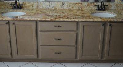 Thrifty Spender Bathroom Cabinet Make Over Chalk