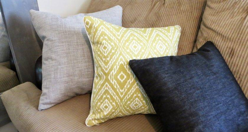 Throw Pillow Cover Sewing Tutorial Invisible