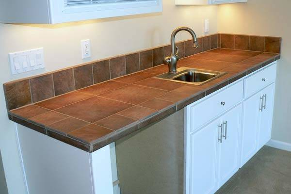 Tile Kitchen Countertop Easy Home Decorating Ideas