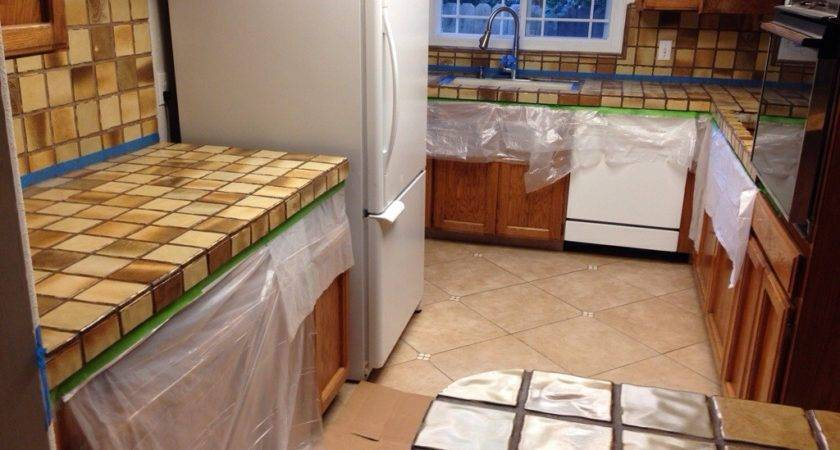 Tile Kitchen Countertops Over Laminate Trends Diy