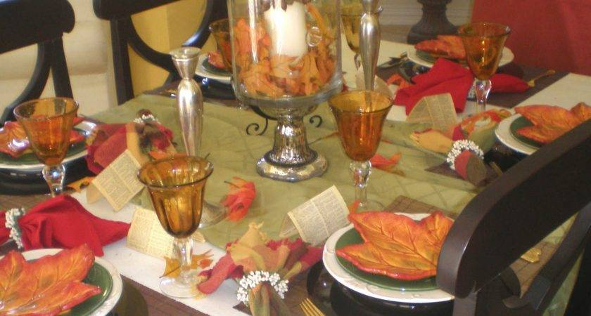 Time Fall Tablescape Style Sisters