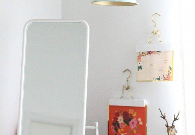 Times Gold Spray Paint Made Ikea Products Even Better
