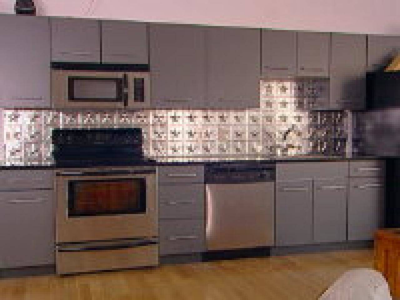 - Tin Backsplash Tiles Ideas - Gabe & Jenny Homes