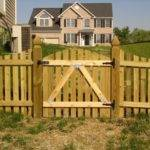 Tips Build Wood Fence Gate Frederick
