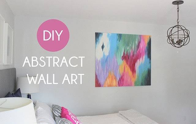 Tips Diy Abstract Canvas Art Create Piece