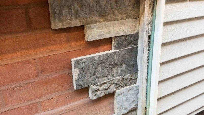 Tips Installing Airstone Exterior Foundation Wall