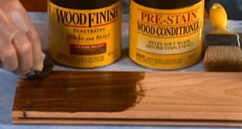 Tips Staining Wood Diy