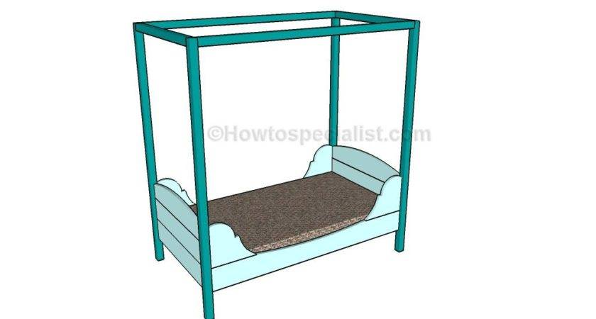 Toddler Bed Plans Howtospecialist Build Step