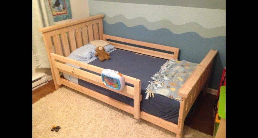 Toddler Bed Rails All Around Youtube