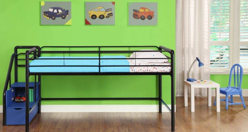 Toddler Low Loft Beds Stairs
