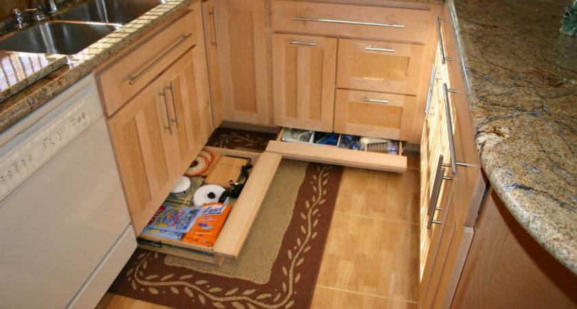 Toe Kick Drawers Zimmer Custom Kitchen Cabinets Flickr