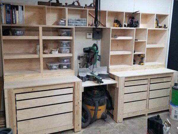 Top Best Tool Storage Ideas Organized Garage Designs