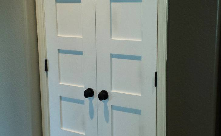 Top Double French Closet Doors Interior