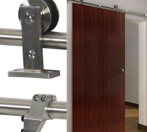 Top Mounted Modern Sliding Barn Door Hardware