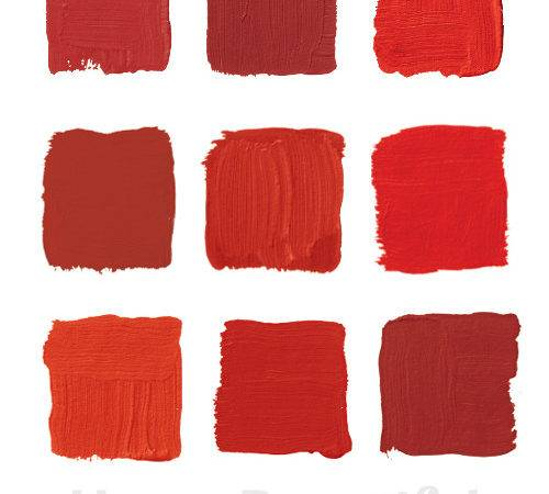 Top Shades Red Paint Most Famous Designers