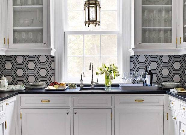 Top Ten Elegant Grey White Backsplash