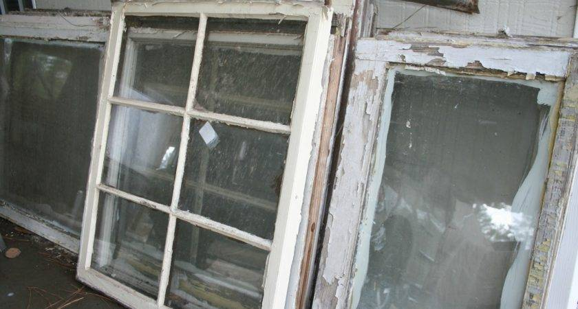 Transformations Heart Old Window Frame Colorful