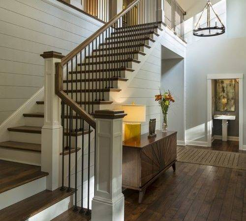 Transitional Staircase Design Ideas Remodel