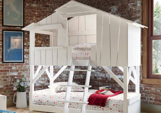 Tree House Bunk Beds Kids Homesfeed