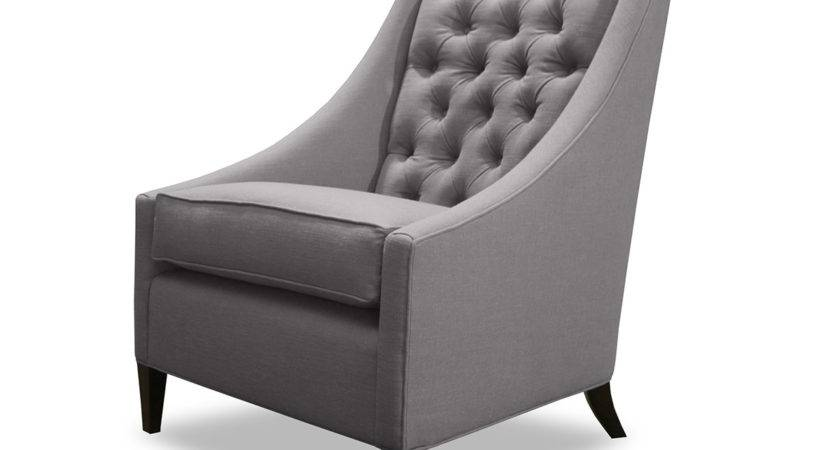 Trento Tufted Linen Chair