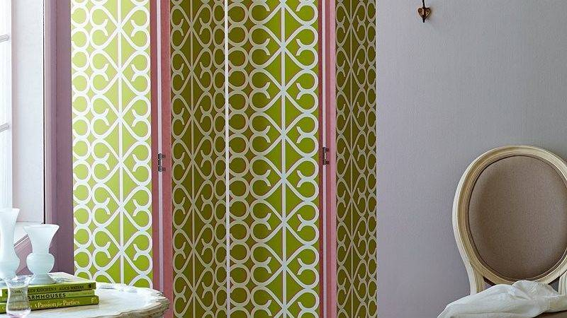 Try Our Diy Folding Screen Weekend