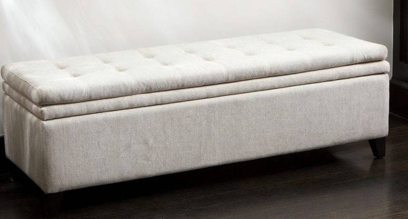 Tufted Bedroom Bench Benches Leather Bed