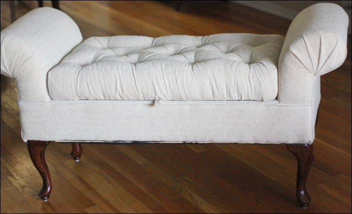 Tufted Diy Bench Make Over Yourself