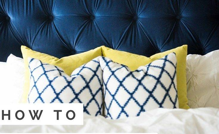 Tufted Headboard Make Own Your Tutorial