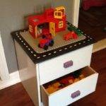 Turn Old Piece Furniture Into Clever Lego Table