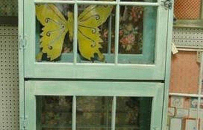 Turn Old Window Into Cabinet Diy Projects Everyone