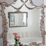 Turn Your Builder Grade Mirrors Into Vintage French