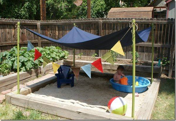 Turning Backyard Into Playground Cool Projects