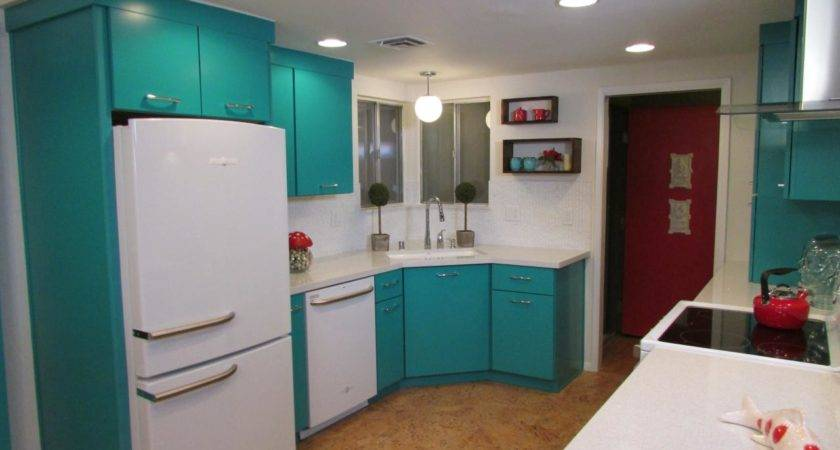 Turquoise Kitchen Cabinets Diy Quicua