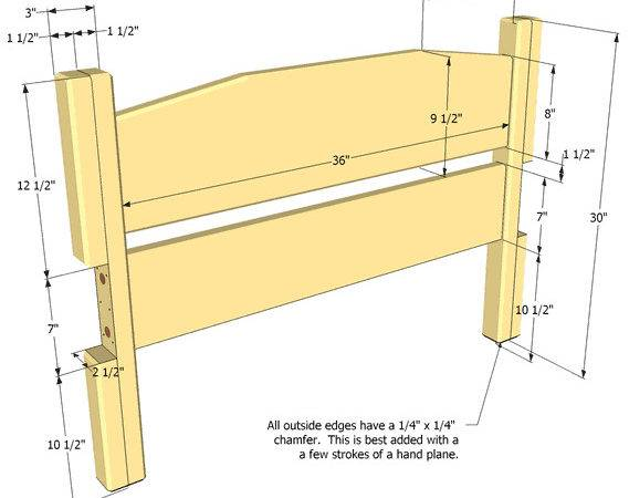 Twin Bed Frame Diy Woodideas