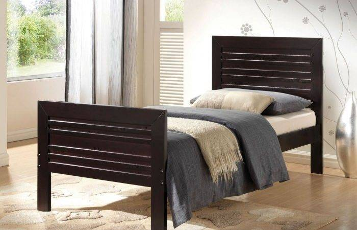 Twin Bed Headboard Footboard Rails