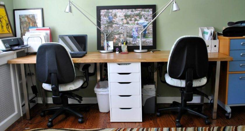 Two Person Desk Making Life Easier Home Furniture Design