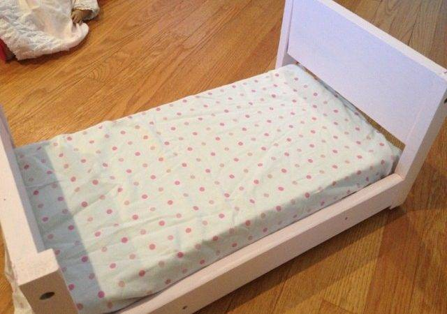 Two Yourself Diy Doll Bed American Girl Scrapwood